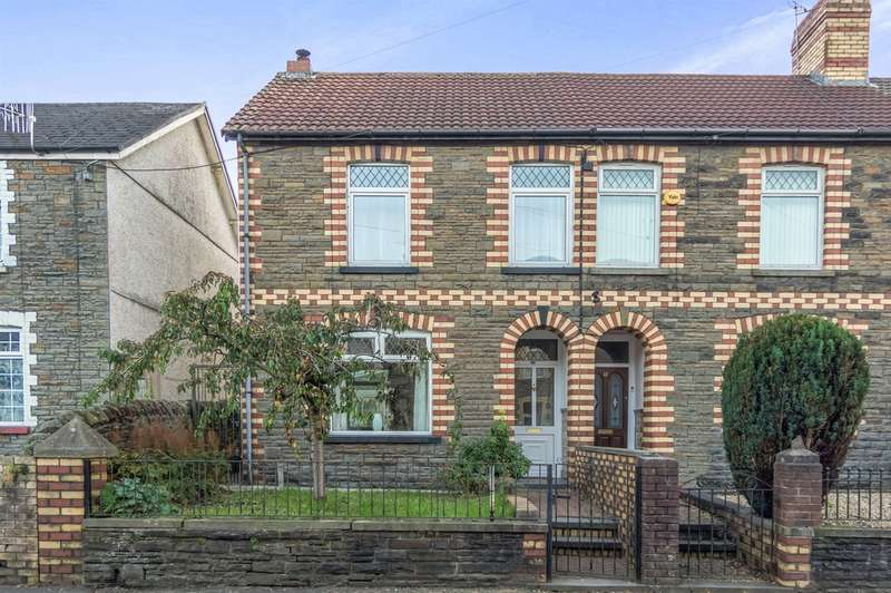 4 Bedrooms Semi Detached House for sale in Mill Road, Caerphilly