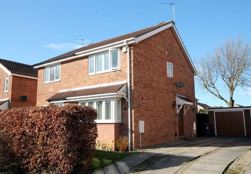 2 Bedrooms Semi Detached House for sale in Bellhouse Way, York, YO24 3LL