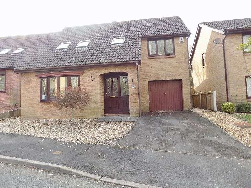 4 Bedrooms Detached House for sale in Honeysuckle Way, Brackla, Bridgend. CF31 2NT