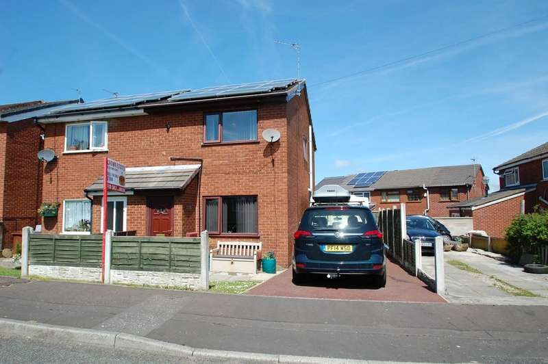 2 Bedrooms Semi Detached House for sale in Briar Hill close, Audley Range, Blackburn