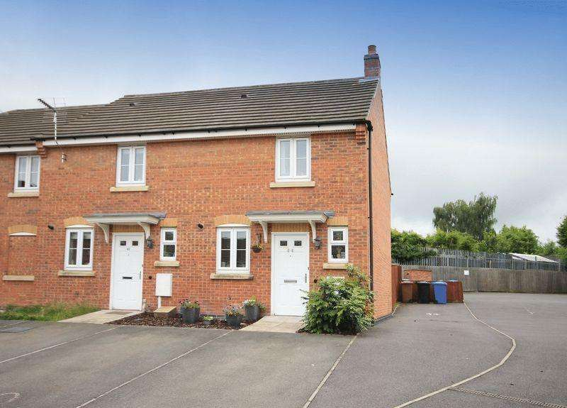 2 Bedrooms Semi Detached House for sale in ALONSO CLOSE, CHELLASTON