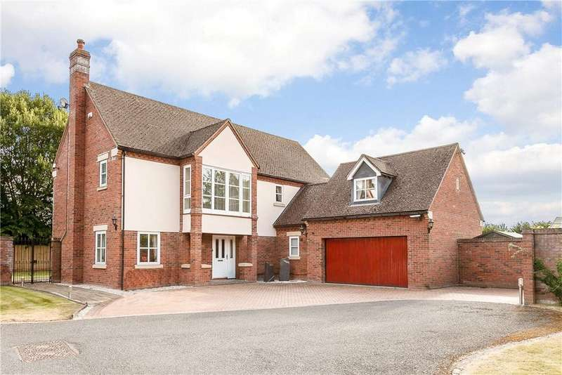 5 Bedrooms Detached House for sale in Breinton Lee, Hereford, Herefordshire, HR4