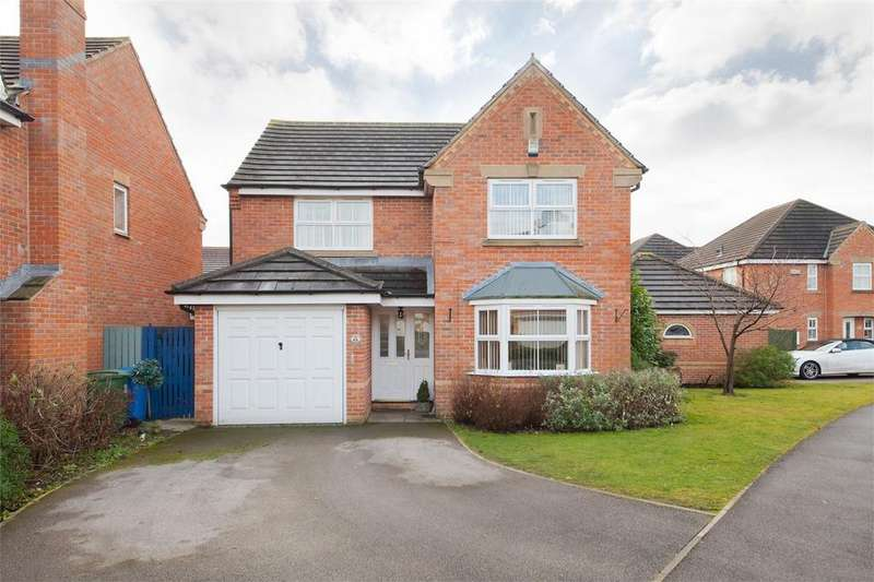 4 Bedrooms Detached House for sale in 62 Broadmanor, Pocklington, York