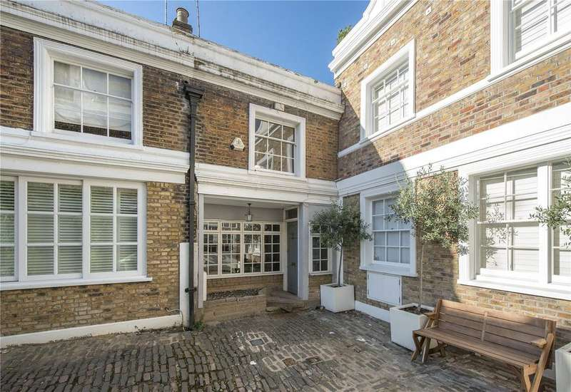 2 Bedrooms House for sale in Denbigh Close, London, W11