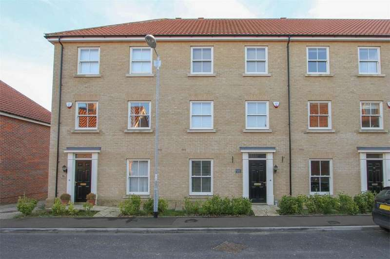 3 Bedrooms Town House for sale in Vanguard Chase, Norwich, Norfolk