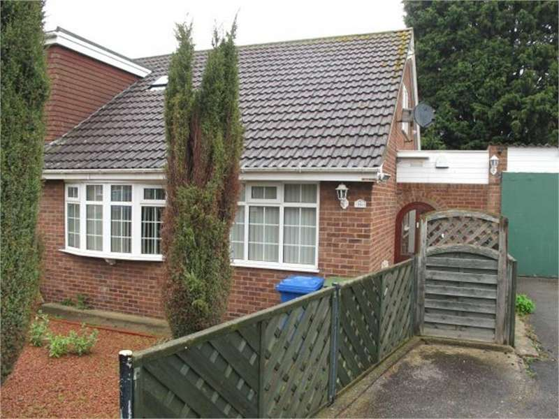 3 Bedrooms Semi Detached Bungalow for sale in 16, Saffron Garth, Patrington