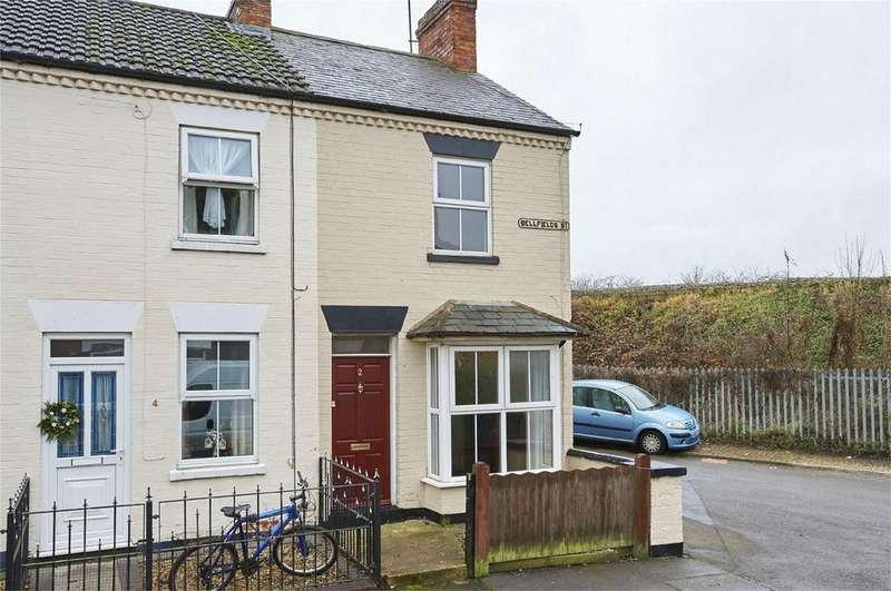 2 Bedrooms End Of Terrace House for sale in Bellfields Street, Market Harborough, Leicestershire