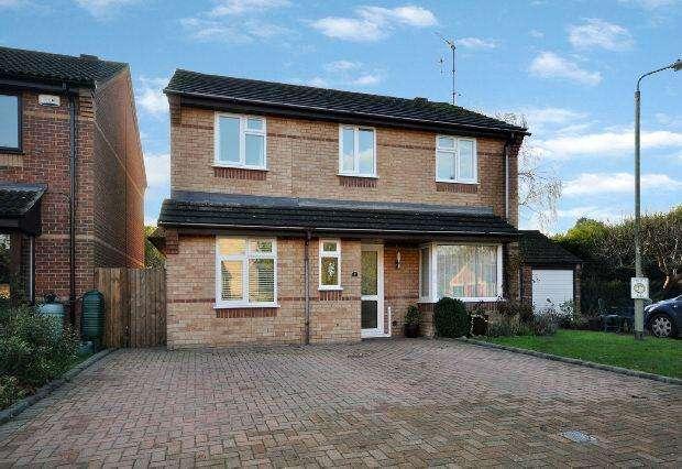 4 Bedrooms Detached House for sale in Belvedere Walk, Winnersh, Wokingham,