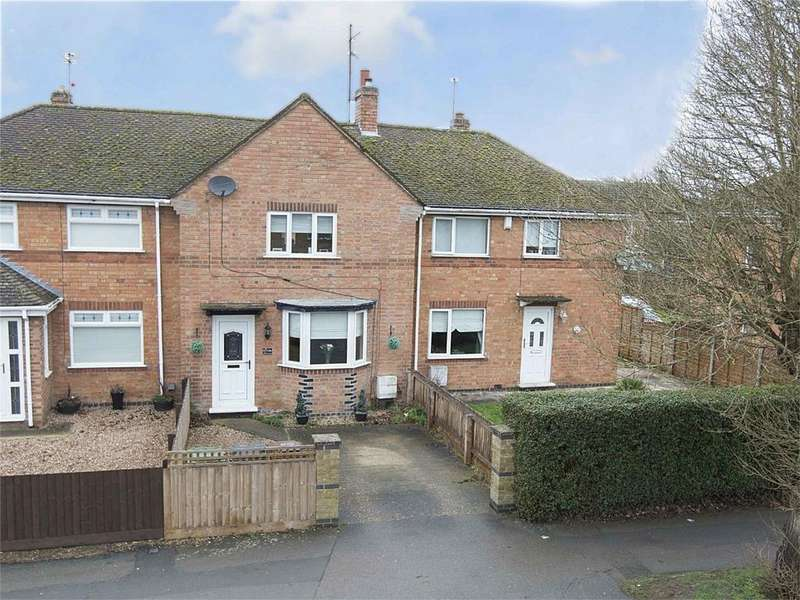 3 Bedrooms Terraced House for sale in Rowlett Road, Corby, Northamptonshire