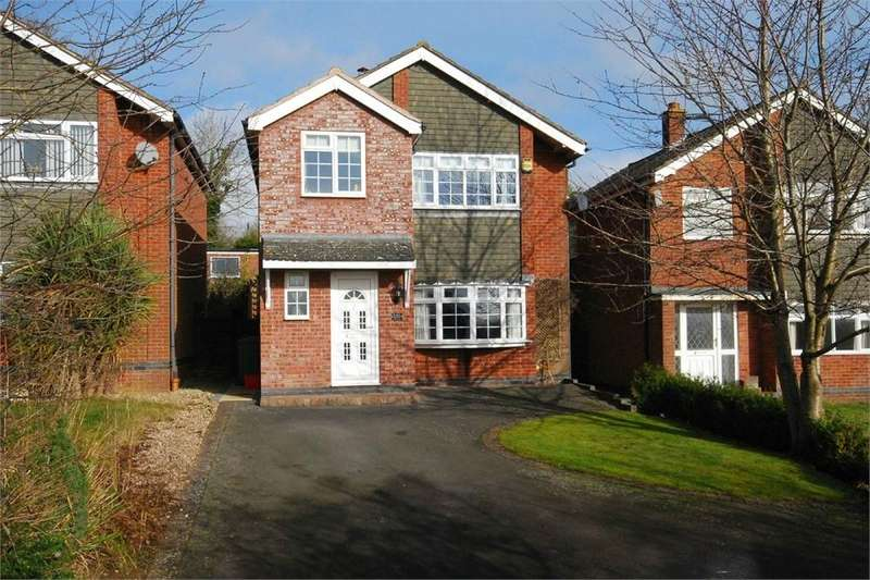 3 Bedrooms Detached House for sale in Crick Road, Hillmorton, RUGBY, Warwickshire