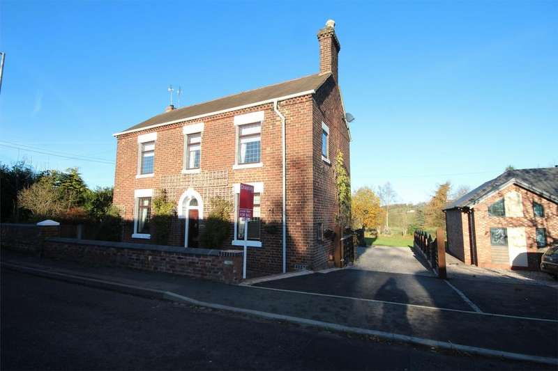 4 Bedrooms Detached House for sale in Uttoxeter Road, Blythe Bridge, Staffordshire