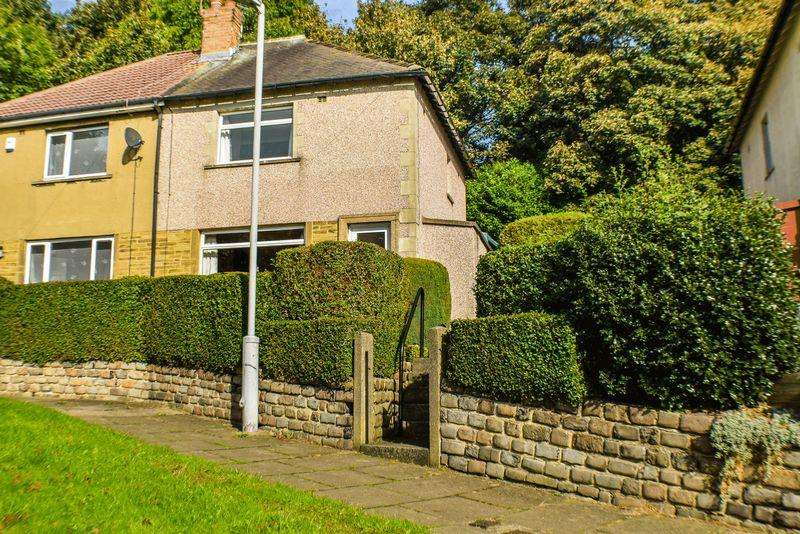 2 Bedrooms Semi Detached House for sale in Greenfield Avenue, Shipley