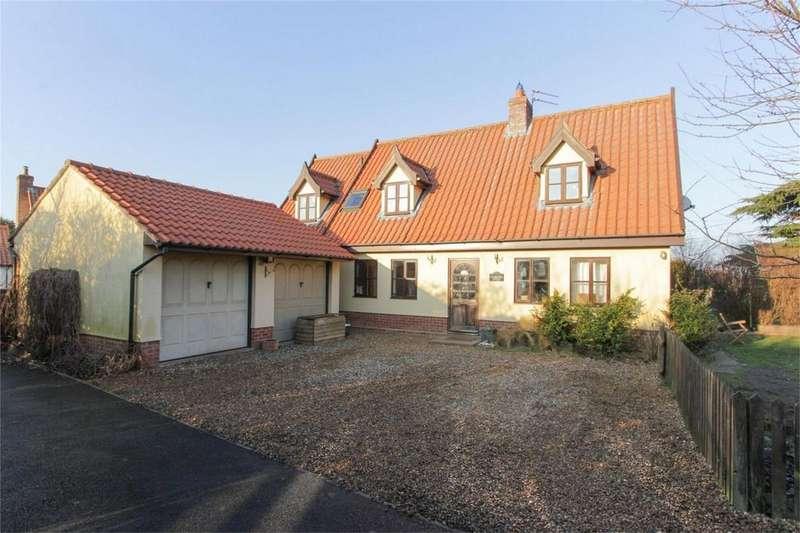 4 Bedrooms Detached House for sale in Cherrytree Cottage, Garboldisham Road, East Harling, Norfolk