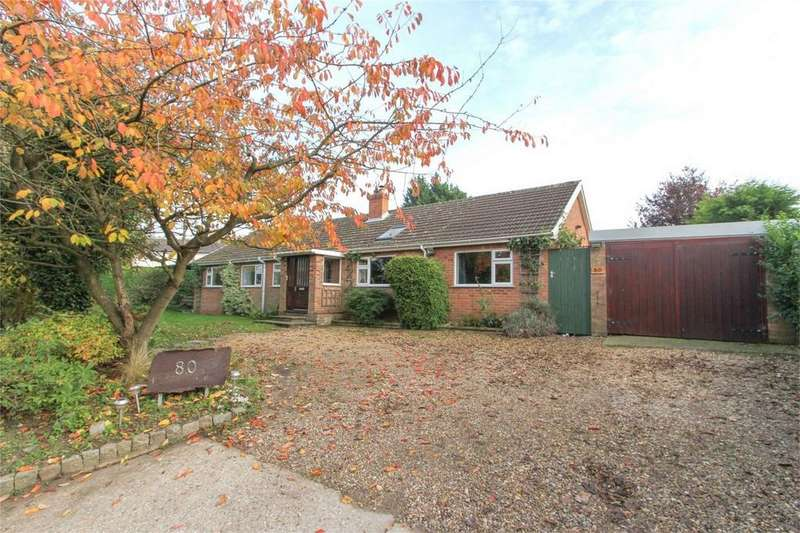5 Bedrooms Detached Bungalow for sale in Low Street, Crownthorpe, Wicklewood, Norfolk