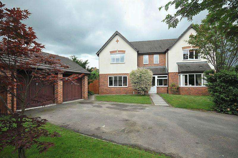 5 Bedrooms Detached House for sale in Clover Drive, Pickmere