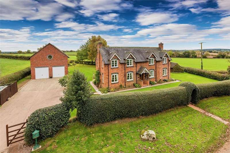 4 Bedrooms Detached House for sale in Keepers Cottage, Orslow, Newport, Shropshire