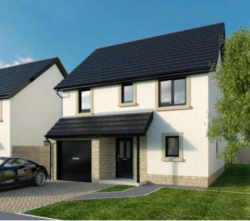 4 Bedrooms Detached House for sale in Bowfield Hall, Bowfield Road, West Kilbride, Ayrshire, KA23 9JZ