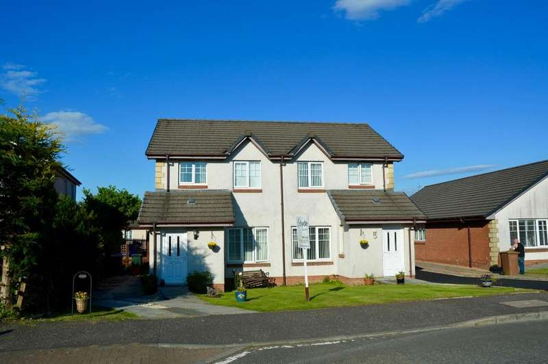 3 Bedrooms Semi-detached Villa House for sale in Primpton Avenue, Dalrymple, Ayr, KA6 6EL