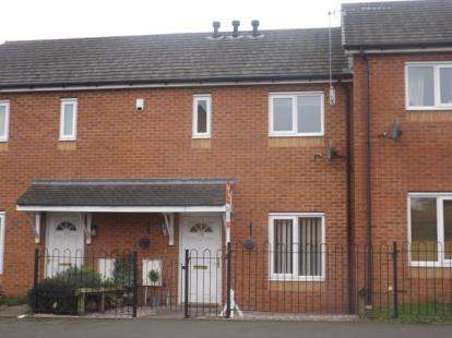 2 Bedrooms Terraced House for sale in Coronation Way, Kidderminster, Worcestershire