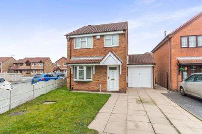3 Bedrooms Detached House for sale in Honeybourne Way, Willenhall, West Midlands