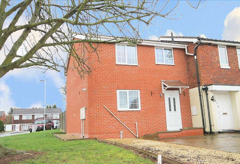 3 Bedrooms Town House for sale in Brambling, Wilnecote, Tamworth, B77 5PP