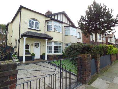 3 Bedrooms Semi Detached House for sale in Mersey Road, Crosby, Liverpool, Merseyside, L23