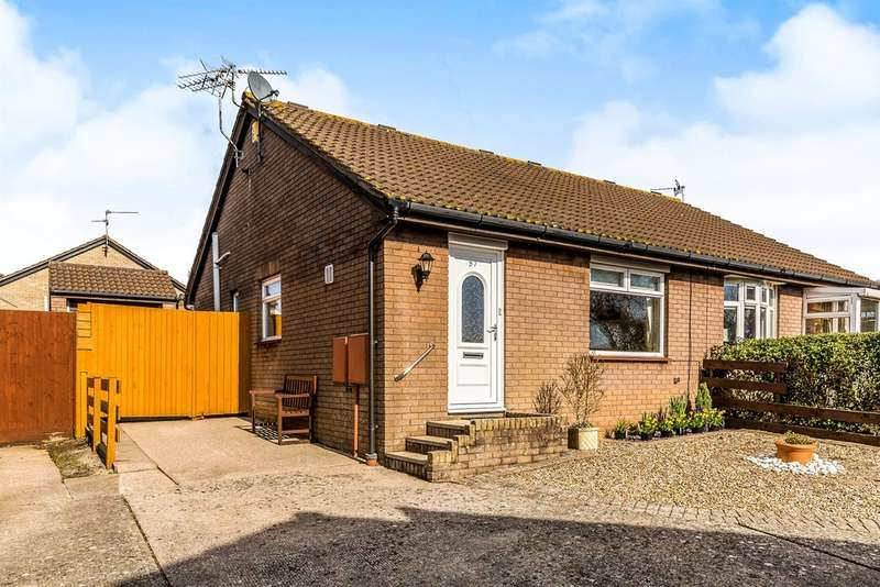 2 Bedrooms Semi Detached Bungalow for sale in Arlington Road, Sully