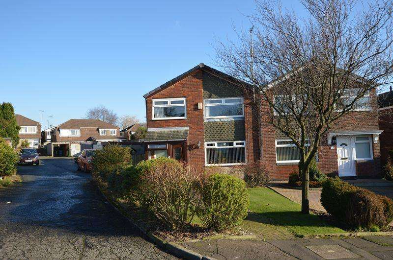 3 Bedrooms Semi Detached House for sale in Hillstone Avenue, Rochdale