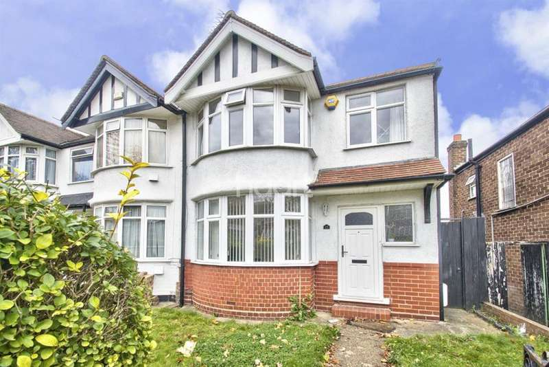 3 Bedrooms Semi Detached House for sale in Twyford Abbey Road, NW10
