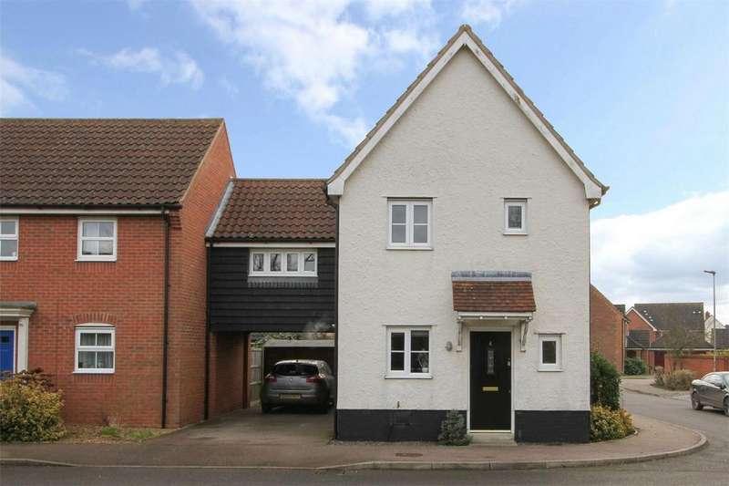 3 Bedrooms Semi Detached House for sale in Meadowsweet Road, Wymondham, Norfolk