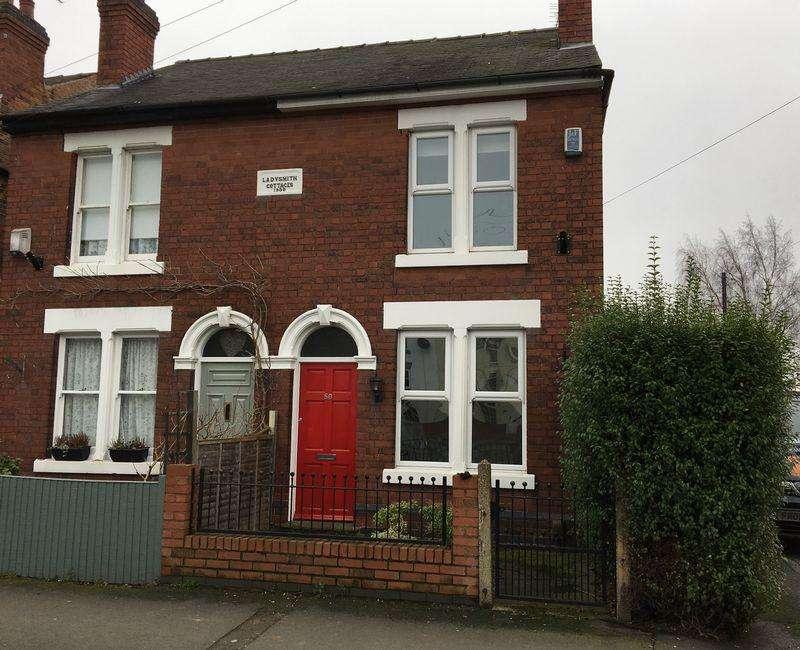 3 Bedrooms Semi Detached House for sale in Victoria Avenue, Borrowash, Derby