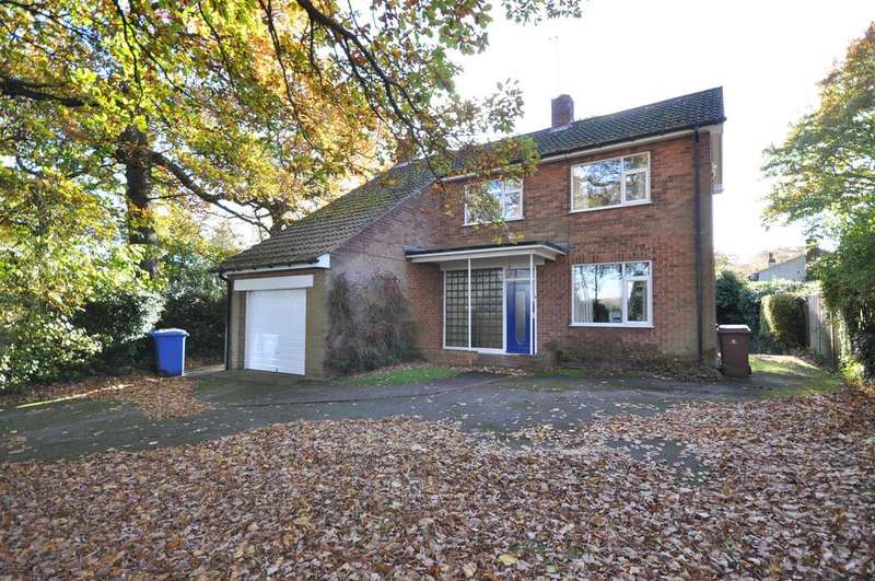 3 Bedrooms Detached House for sale in Eakring Road, Mansfield