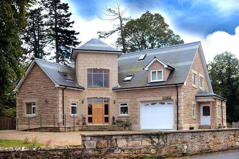 5 Bedrooms Detached House for sale in Bridge View, Pluscarden Road, Elgin, Moray, IV30