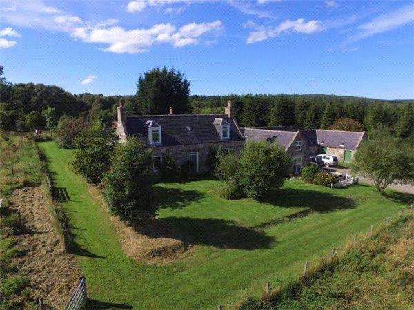 4 Bedrooms Equestrian Facility Character Property for sale in Nether Tomlea Farm, Craigellachie, Aberlour, Moray, AB38