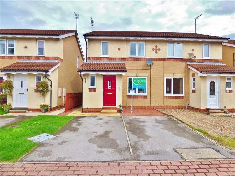 3 Bedrooms Semi Detached House for sale in Tattersall Drive, Beverley