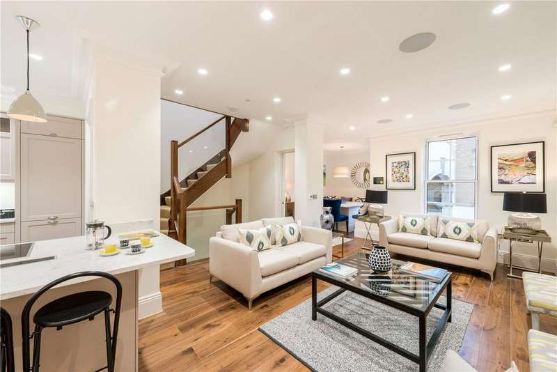 3 Bedrooms Terraced House for sale in Balvaird Place, Pimlico, London, SW1V