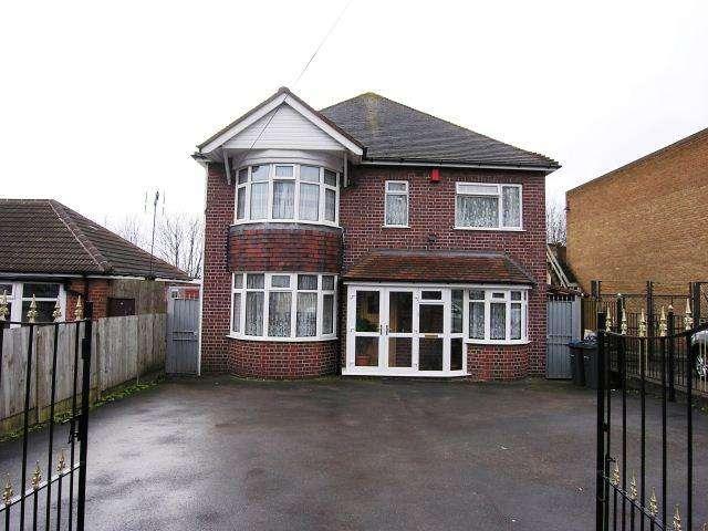 4 Bedrooms Detached House for sale in Hawthorn Road,Kingstanding,Birmingham