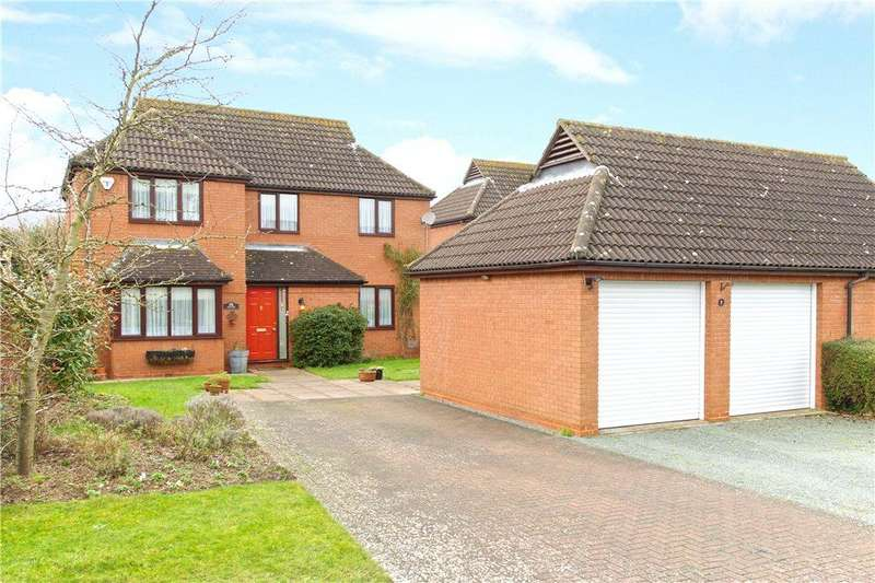 4 Bedrooms Detached House for sale in Runnymede, Giffard Park, Milton Keynes, Buckinghamshire