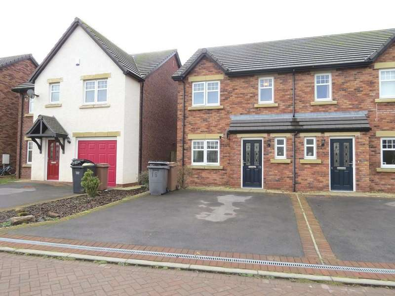 3 Bedrooms Semi Detached House for sale in Leander Close, Whitehaven, Cumbria
