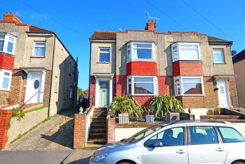 4 Bedrooms Semi Detached House for sale in Southdown Road, Portslade, Brighton