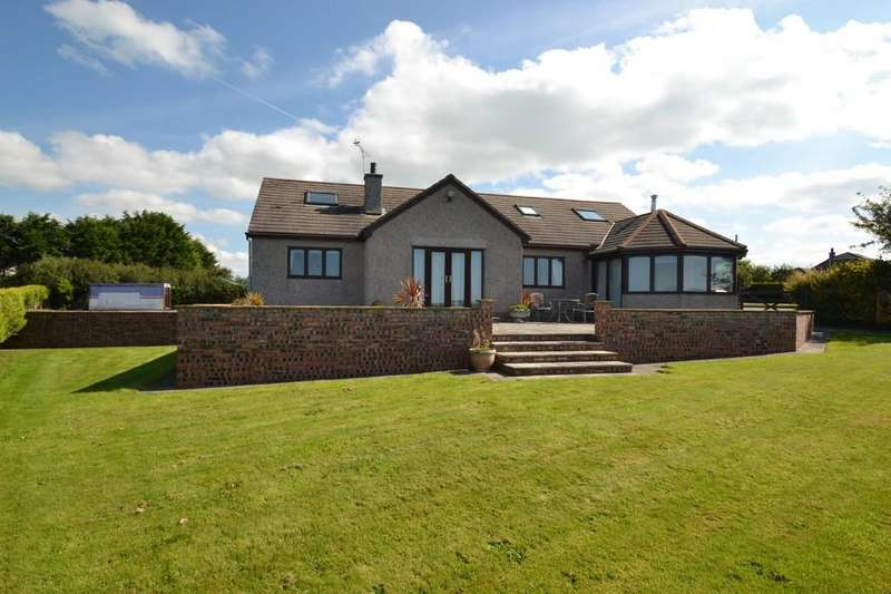 4 Bedrooms Detached House for sale in Cerrigceinwen, Bodorgan, North Wales
