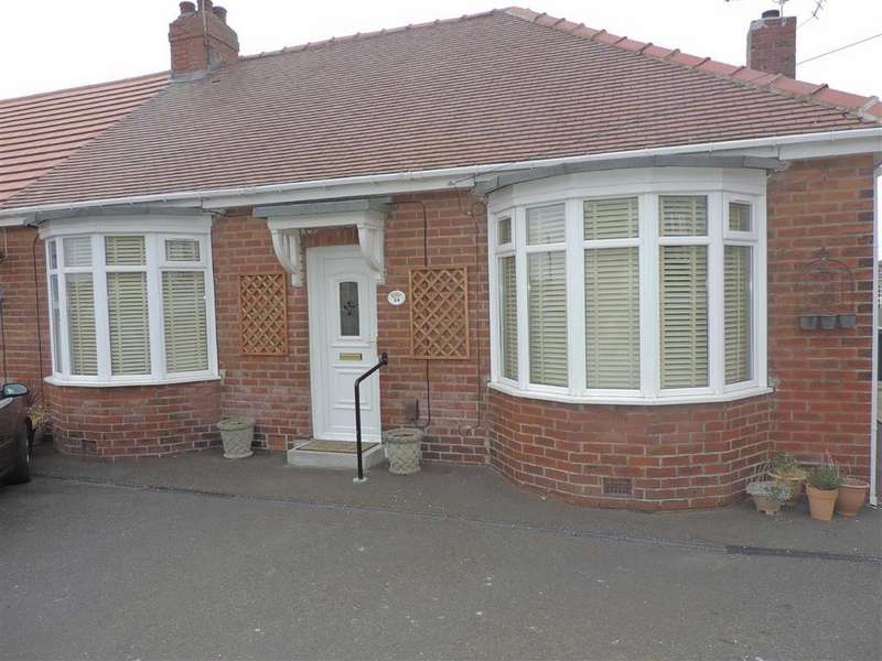 2 Bedrooms Semi Detached Bungalow for sale in Southend Road, Low Fell, Tyne And Wear