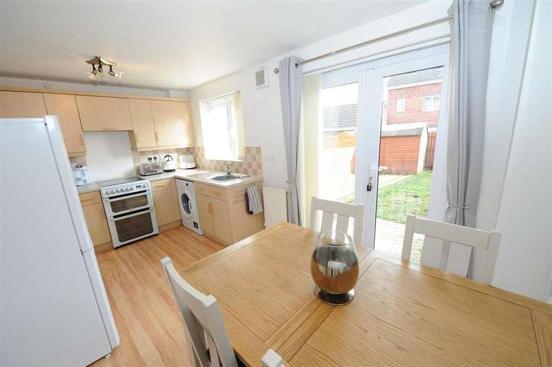 3 Bedrooms Terraced House for sale in Darwin Drive, Brough With St. Giles, Catterick Garrison