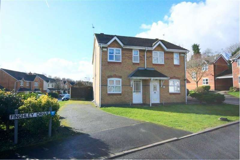 2 Bedrooms Semi Detached House for sale in Finchley Drive, Haresfinch, St Helens, WA11