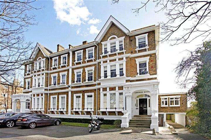 2 Bedrooms Flat for sale in Lennox House, 96 Manor Way, Blackheath, London, SE3
