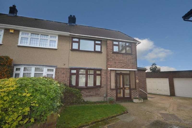 3 Bedrooms End Of Terrace House for sale in Wiltshire Avenue, Hornchurch, Essex, RM11
