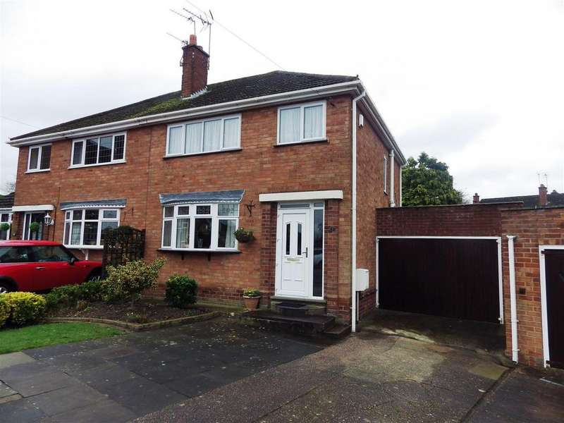 3 Bedrooms Semi Detached House for sale in Ryland Close, Halesowen