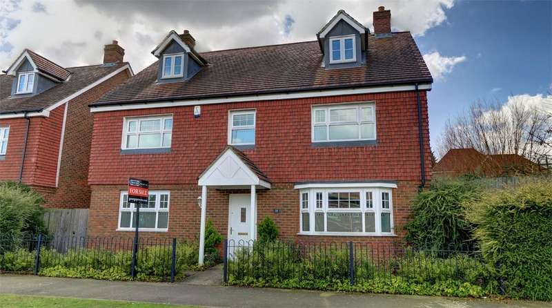 5 Bedrooms Detached House for sale in Sanderson Square, Bickley, Kent