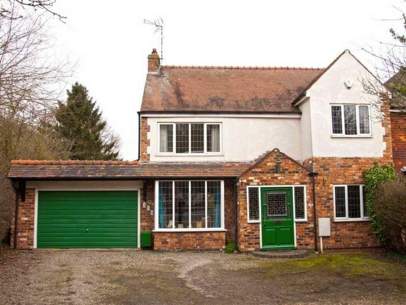 3 Bedrooms Detached House for sale in Weddington Road, Weddington, Nuneaton