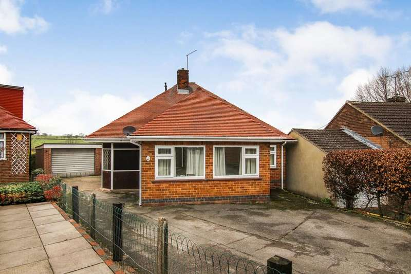 2 Bedrooms Detached Bungalow for sale in Ford Avenue, Loscoe, Derbyshire DE75